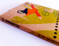 Stabilo 100% recyclable/reusable pack