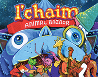 Artwork new album L'Chaim 'Animal Bazaar'.