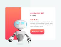 Buy Bot cart UI
