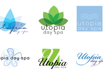 Utopia Spa Logo Concepts