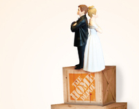 home depot wedding registry on behance