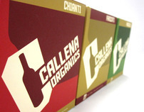 Callena Organics Wine Boxes and Identity