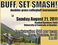 Buff, Set Smash! Grass Volleyball Tournament