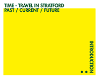 TIME - TRAVEL IN STRATFORD PAST / CURRENT / FUTURE