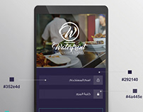 ui/ux for an android app - for a resturant