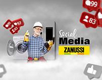 ZANUSSI Social Media