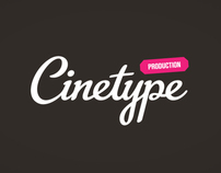 Cinetype - visual identity and website