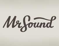 Mr. Sound - visual identity and website