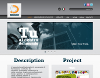 """Web Site Proposal for """"DIPLOMATICI.IT"""""""
