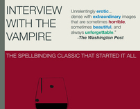 Design: Interview with the Vampire by Anne Rice