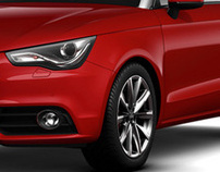 Audi A1 Customized Page