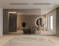 Pale apartment.