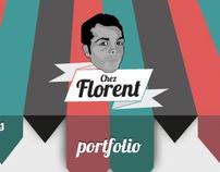 Florent website/portfolio (old)