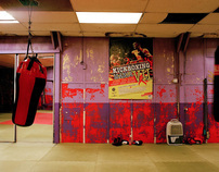 Prokick Kickboxing Gym, Belfast.