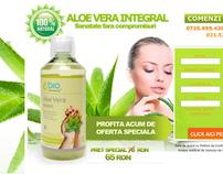 Landing Page Aloe Vera Integral