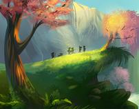Create a Magical Vector Landscape Using Illustrator