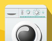 Interface & UX Design | washing machine interface