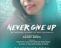 First Look Poster of 'Never Give Up- an inspiring journ