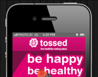 Tossed Mobile eCommerce and Loyalty App UX, UI
