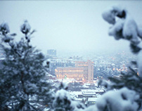 Tbilisi in Snow