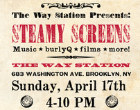 Steamy Screens Poster