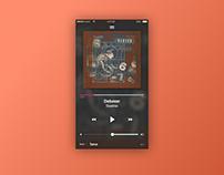 Daily UI | #009 | Music Player