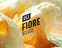 Re-Branding - Del Fiore Gelato Packaging