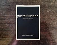 Diseño editorial para Postdiluviano Fanzine