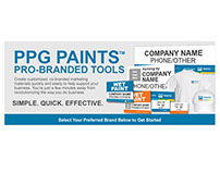 PPG PAINTS Marketing Materials
