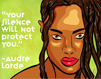 No silence! Poster