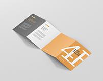 4-Fold Brochure Mockup - DIN A4 A5 A6