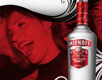 Visibility Campaign - Smirnoff Vodka 'MIX IN SMIRNOFF'