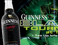 Experiential - Guinness BLK9 Night Golfing