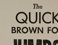 """The quick brown fox jumps!"""