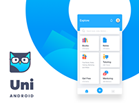 UNI | Education App UI for Android