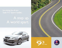 Saab Direct Mail Brochure