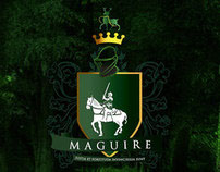 Maguire Family Crest T-Shirt & Illustration