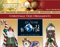 Seaway China Christmas Tree Ornaments