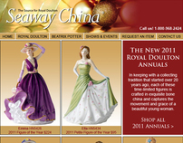 Seaway China - The New 2011 Royal Doulton Annuals