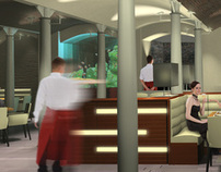 Mercers Bar - 3D Visualisation