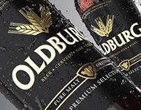 Oldburg Beer Packaging Design