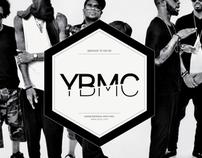 Y.B.M.C. logo design