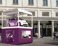 Toyota IQ Promotional Unit - 3D Visualisation