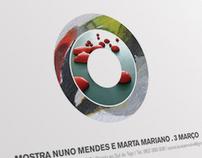 Mostra Nuno Mendes e Marta Mariano