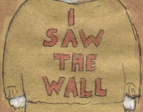 I saw the wall