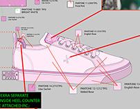 SIMPLE - footwear concept design for DRK SS17