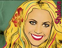 POP art - Shakira
