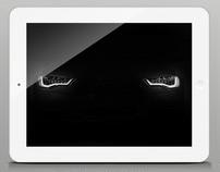 Audi AR iPad APP