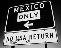 La línea (USA-Mexico border)