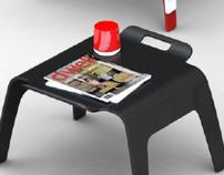 Ottoman - Side Table
